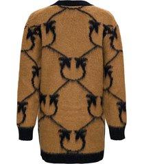pinko adelfi cardigan in wool blend