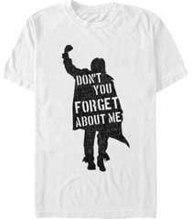 the breakfast club men's iconic don't you forget about me short sleeve t-shirt