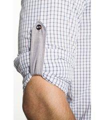 koszula bexley 2030 długi rękaw slim fit beż