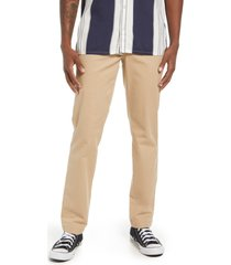 bp. workwear pants, size 36 in tan nomad at nordstrom