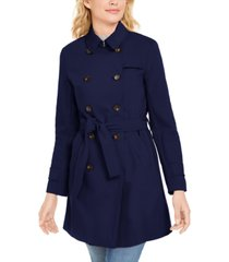 marella double-breasted trench coat