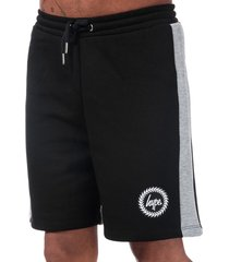 hype men's bradford shorts size l in black