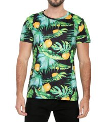 camiseta de hombre hojas rachid tribeca