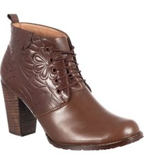 botin formal para dama san polos at-1267 café