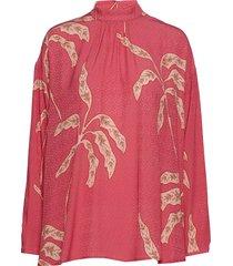 alicia blouse lange mouwen rood stella nova