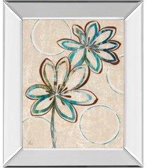 "classy art tie dye i by nan mirror framed print wall art, 22"" x 26"""