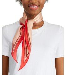 vince camuto pop stud border silk kite scarf