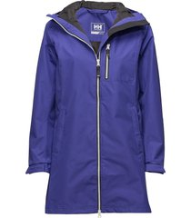 w long belfast jacket parkas rock lila helly hansen