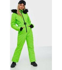 missguided ski snow suit jumpsuits