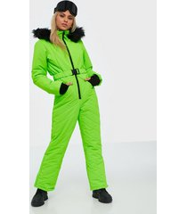 missguided ski snow suit jumpsuits