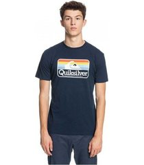 t-shirt korte mouw quiksilver camiseta manga corta hombre eqyzt06386