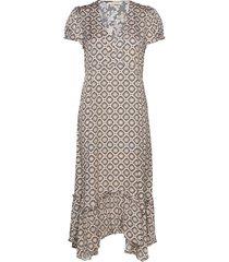 pretty printed dress knälång klänning multi/mönstrad odd molly