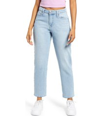 women's bp. high waist mom jeans, size 28 - blue