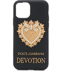 dolce & gabbana devotion iphone 11 pro case - black