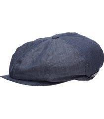 emporio armani drapy flat cap