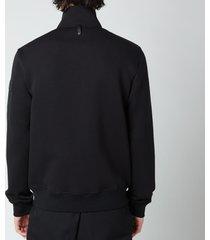 mackage men's tyler zip-through jacket - black - xl