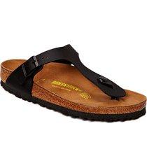 gizeh shoes summer shoes flat sandals brun birkenstock