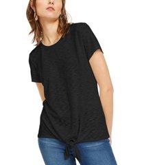 inc plus size tie-hem top, created for macy's