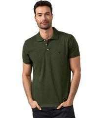 masculino exterior camiseta verde leonisa m2806