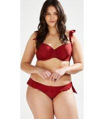 hunkemöller djärv, lågt skuren bikiniunderdel paramaribo i am röd