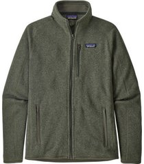 patagonia vest mens better sweater jacket industrial green-m