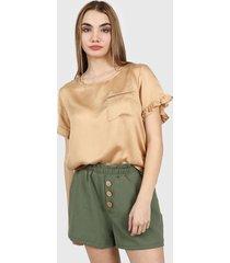 blusa marrón nano 0221