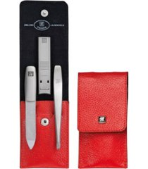 zwilling twinox asian competence 4 piece set with pocket case