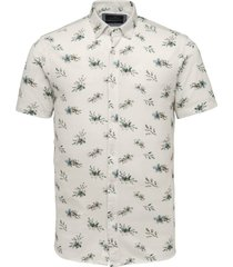 overhemd pique wit
