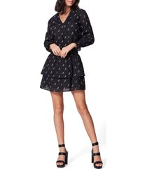 women's paige serrano long sleeve fit & flare dress