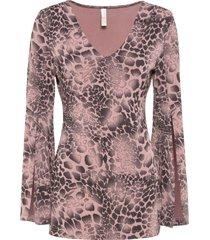 maglia con maniche a campana (rosa) - bodyflirt boutique