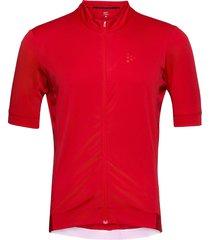 essence jersey t-shirts short-sleeved röd craft
