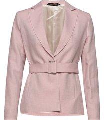 tiona linen blazer blazers business blazers roze morris lady
