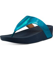 fitflop lottie iridescent scale thong sandals women's shoes