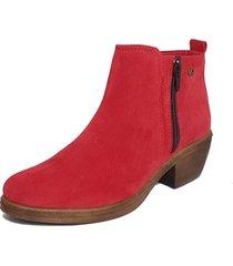 botineta roja rosevelt shoes michelle