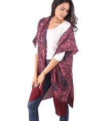 kimono bordó spiga 31