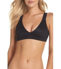 women's spanx bra-llelujah! unlined bralette, size medium - black