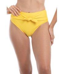 bikini calzón con amarra amarillo samia