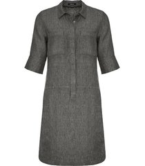 jurk donker grijs