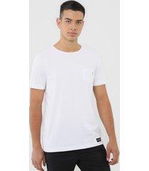 camiseta polo wear bolso branca