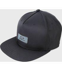 gorra gris oakley nylon hologram patch hat