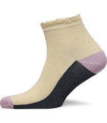 blocka glam sock lingerie socks footies/ankle socks creme becksöndergaard