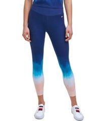 tommy hilfiger sport ombre 7/8 length leggings