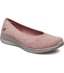 womens wave-lite - my dear ballerinaskor ballerinas rosa skechers
