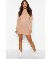 crew neck long sleeve dress, blush