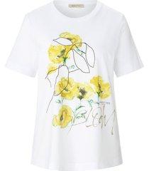 shirt 100% katoen ronde hals van margittes wit