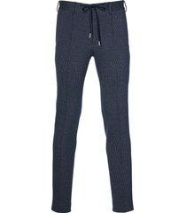 hensen pantalon mix&match - slim fit - blauw
