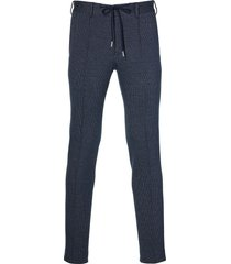 hensen pantalon mix&match - slim fit - blauw