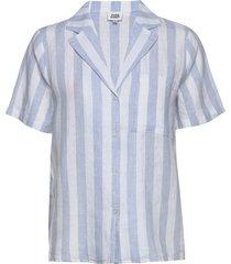 brooke shirt overhemd met korte mouwen blauw twist & tango