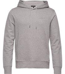 throw hood-clean sweat hoodie trui grijs j. lindeberg