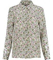 pom blouse calaveras